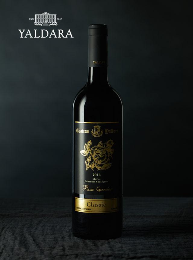 玫瑰花园西拉赤霞珠干红葡萄酒2018